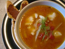 Mediterranean Fish Stew
