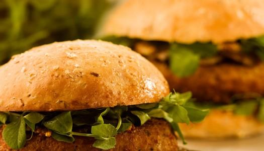 Bulgur and Mushroom Burgers