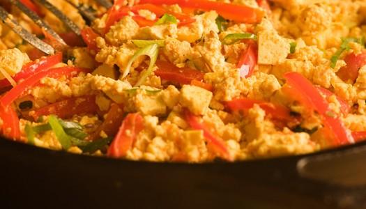 Southwestern Scrambled Tofu