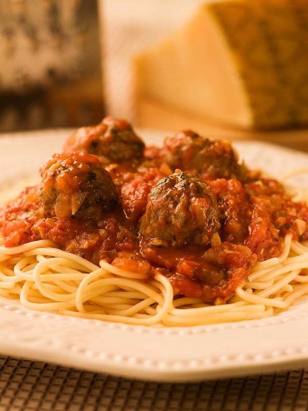 Spaghetti Meatballs With Simple Tomato Sauce Chef Michael Smith