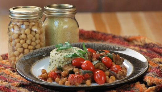 Speedy Moroccan Zucchini & Couscous