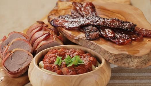Bacon Three Ways
